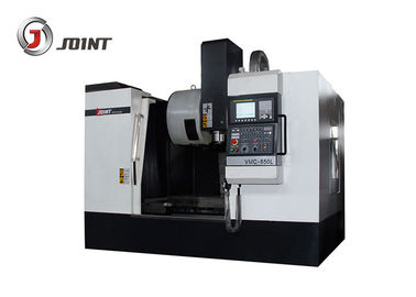 Full Enclosed Cover CNC Machining Center 4 Axis Rotary Table 7.5 Kw Power