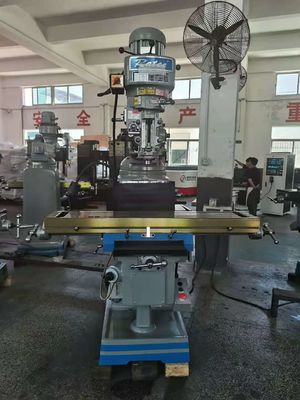 3HP 4540rpm Vertical Turret Milling Machine 360mm X Axis